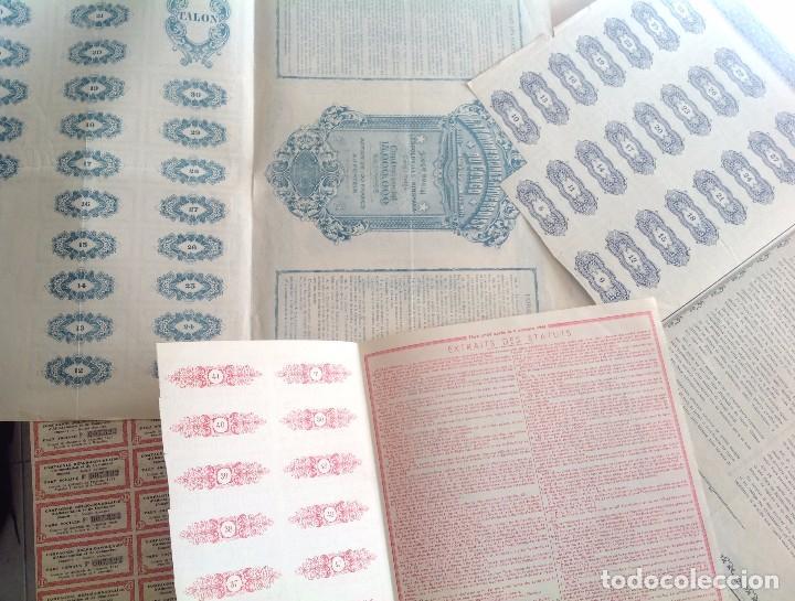 Coleccionismo Acciones Extranjeras: 1920´s - 1940´s * lote de 6 acciones diferentes del CONGO BELGA * AFRICA - Foto 7 - 103716119