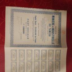 Coleccionismo Acciones Extranjeras: 70. ACTION. MINIERE & INDUSTRIELKEVDUBTAMEGA. Lote 114119996