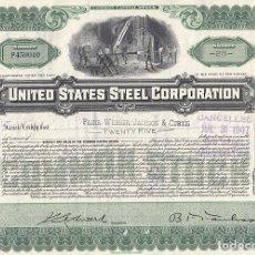Collezionismo Azioni Internazionali: UNITED STATES STEEL CORPORATION, 1947. Lote 116727195