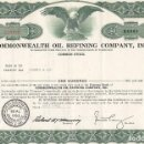 Coleccionismo Acciones Extranjeras: COMMONWEALTH OIL REFINING COMPANY, INC 1961. Lote 119579843