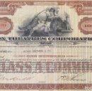 Coleccionismo Acciones Extranjeras: FOX THEATRES CORPORATION, 1929. Lote 119587399