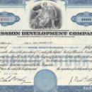 Coleccionismo Acciones Extranjeras: MISSION DEVELOPMENT COMPANY, 1950. Lote 119588923
