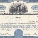 Coleccionismo Acciones Extranjeras: PHILLIPS-VAN HEUSEN CORP. 1970. Lote 120459555
