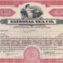 Coleccionismo Acciones Extranjeras: NATIONAL TEA CO. 1933. Lote 120503631
