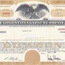 Coleccionismo Acciones Extranjeras: UNITED STATES GYPSUM COMPANY, 1968. Lote 120664915