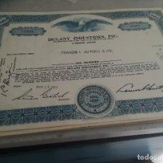 Coleccionismo Acciones Extranjeras: BONO ACCIÓN USA. CÍA DELANI.. Lote 124441111