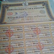 Coleccionismo Acciones Extranjeras: BONO ACCIÓN FRANCIA. . Lote 124441375