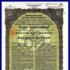 Coleccionismo Acciones Extranjeras: BONO ACCION DE GUERRA TERCER REICH ALEMAN.. Lote 127174839