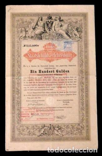 ACCION HOLANDESA ANTIGUA CON CUPONES 1865.. (Coleccionismo - Acciones Extranjeras )