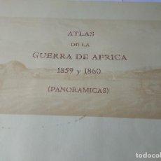 Coleccionismo Acciones Extranjeras: ATLAS DE LA GUERRA DE AFRICA 1859-1860. Lote 138908362