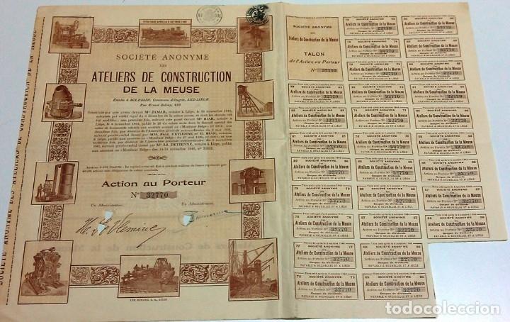 ATELIERS DE CONSTRUCTION DE LA MEUSE (Coleccionismo - Acciones Internacionales)