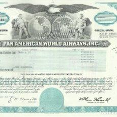 Coleccionismo Acciones Extranjeras: 100 ACCIONES PAN AMERICAN... 1981. Lote 182828962