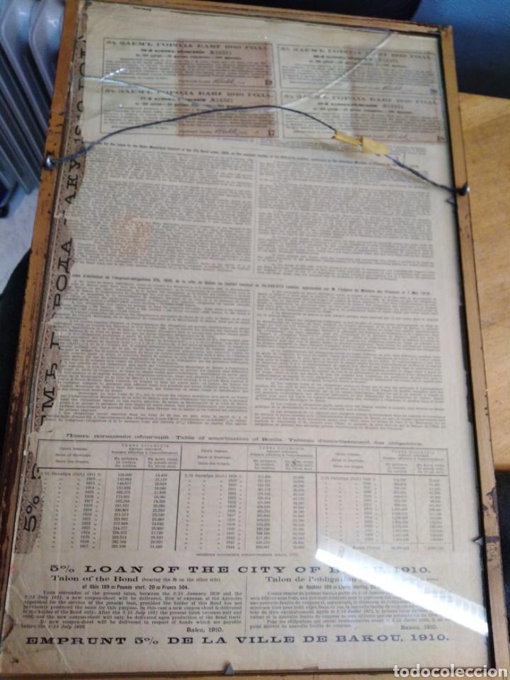 Coleccionismo Acciones Extranjeras: 4 ANTIGUAS ACCIONES RUSAS AÑOS 1894 -1896 - 1910 - Foto 7 - 193796872