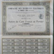Coleccionismo Acciones Extranjeras: ACCION DE FRANCIA. Lote 194388967