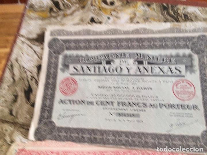 Coleccionismo Acciones Extranjeras: 9 acciones de minas 5 diferentes - Foto 3 - 196363263