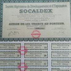 Coleccionismo Acciones Extranjeras: ACCIONES FRANCESAS DE DESARROLLO SOCIAL. Lote 203780217