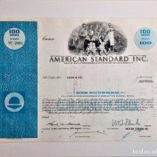 Collezionismo Azioni Internazionali: ACCION COMMON 1968 AMERICAN STANDARD INC.. Lote 210148001
