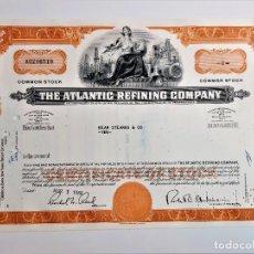 Collezionismo Azioni Internazionali: ACCION COMMON 1966 THE ATLANTIC REFINING COMPANY. Lote 233742585