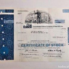 Coleccionismo Acciones Extranjeras: ACCION COMMON 1974 CONSOLIDATED EDISON COMPANY NEW YORK INC.. Lote 210149441