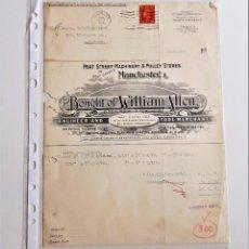 Coleccionismo Acciones Extranjeras: ACCION PORT STREET MACHINERY & PULLEY STORES 1941 MANCHESTER CON SELLO STAMP. Lote 221741108