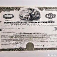 Collezionismo Azioni Internazionali: 1970 ACCION CONSOLIDATED EDISON COMPANY OF NEW YORK, INC. Lote 212090336