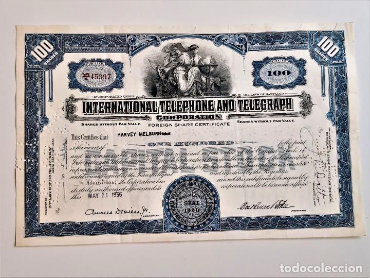 ACCION 1956 (Coleccionismo - Acciones Extranjeras )