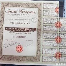 Collezionismo Azioni Internazionali: ANTIGUA ACCION ACERO INOXIDABLE FRANCIA 1928. Lote 223341216