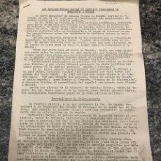 Coleccionismo Acciones Extranjeras: BOLETÍN INFORMACIÓN EEUU ENVÍAN UN CATOLICO PROMINENTE DE EMBAJADOR A ESPAÑA. Lote 223417747