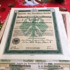 Coleccionismo Acciones Extranjeras: ANTIGUO BONO O ACCIÓN ALEMANA. Lote 235999870
