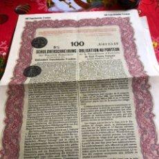 Coleccionismo Acciones Extranjeras: ANTIGUA ACCIÓN AUSTRIACA A IDENTIFICAR. Lote 236002815