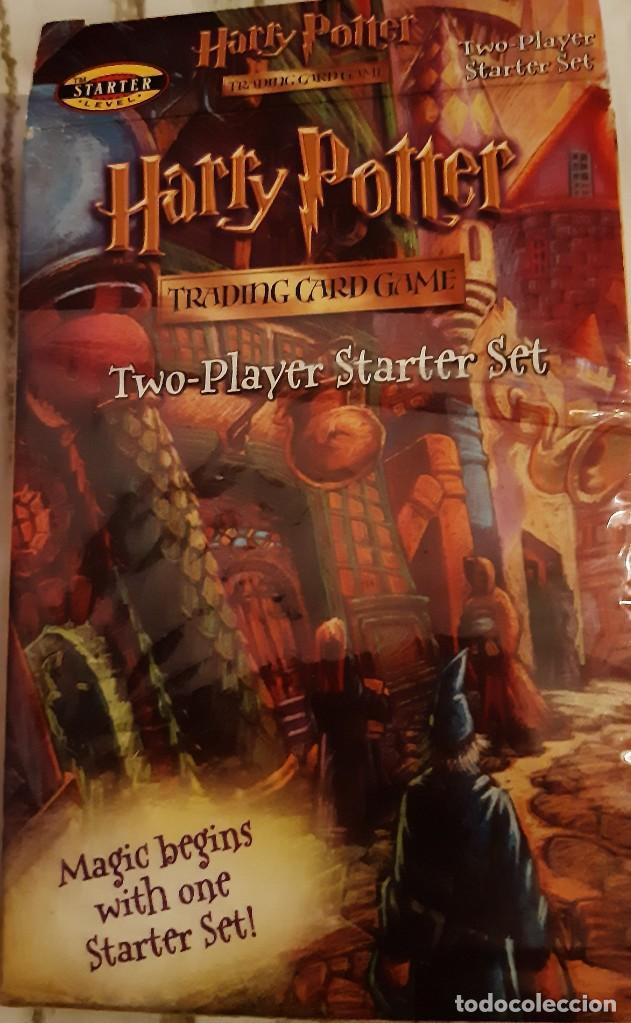 HARRY POTTER GAME TRADING CARD TWO PLAYER STARTER SET (Coleccionismo - Acciones Internacionales)