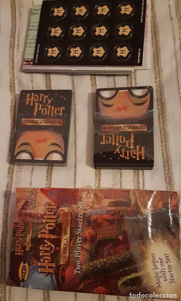 Coleccionismo Acciones Extranjeras: HARRY POTTER GAME TRADING CARD TWO PLAYER STARTER SET - Foto 3 - 245594540