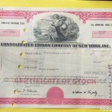 Coleccionismo Acciones Extranjeras: BONO COMPRA ACCIONES AÑO 1975 AMERICA. Lote 255348830