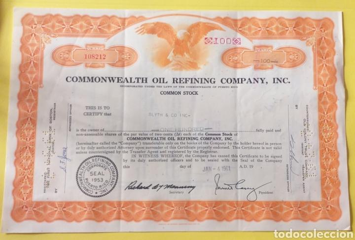 BONO COMPRA ACCIONES AÑO 1961 AMERICA (Coleccionismo - Acciones Internacionales)
