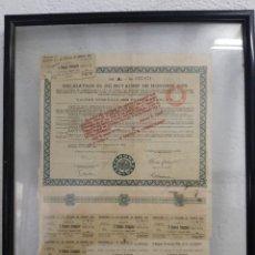 Coleccionismo Acciones Extranjeras: OBLIGATION DU ROYAUME DE HONGRIE 1925. Lote 288500003
