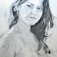 Arte: PINTURA AL ÓLEO ( AXEL RODRÍGUEZ) 73 X 92 CM. Lote 43053761