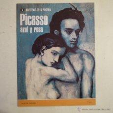 Arte: COLECCIÓN MAESTROS DE LA PINTURA N.º 1. PICASSO AZUL Y ROSA - NOGUER - RIZZOLI - 1973. Lote 52874447