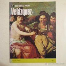 Arte: COLECCIÓN MAESTROS DE LA PINTURA N.º 2. VELÁZQUEZ - NOGUER - RIZZOLI - 1973. Lote 52874468