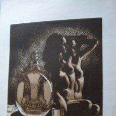 Arte: GRABADO AGUAFUERTE FIRMADO JENS RUSCH. Lote 53589759