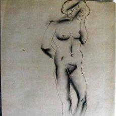 Arte: DIBUJO DE JUAN BARBERA ZAMORA 1980. Lote 53590585
