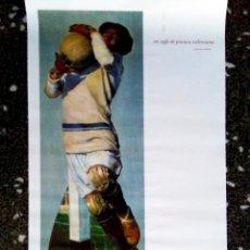 Arte: CARTEL SERIGRAFIA DE - JOSE SEGRELLES - FUTBOLISTA 1994 DEL IVAM TAMAÑO GRANDE 70 X 40 CMS. Lote 93970980
