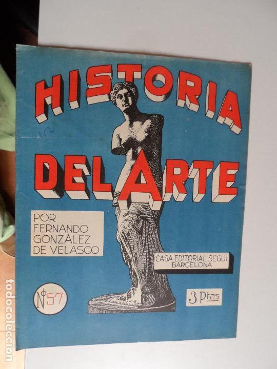 Arte: HISTORIA DEL ARTE CASA EDITORIAL SEGUI POR FERNANDO GONZALEZ VELASCO LOTE 43 REVISTAS - Foto 2 - 117872903