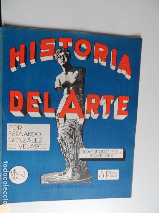 Arte: HISTORIA DEL ARTE CASA EDITORIAL SEGUI POR FERNANDO GONZALEZ VELASCO LOTE 43 REVISTAS - Foto 5 - 117872903