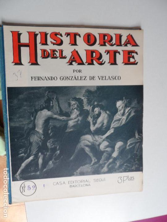 Arte: HISTORIA DEL ARTE CASA EDITORIAL SEGUI POR FERNANDO GONZALEZ VELASCO LOTE 43 REVISTAS - Foto 7 - 117872903