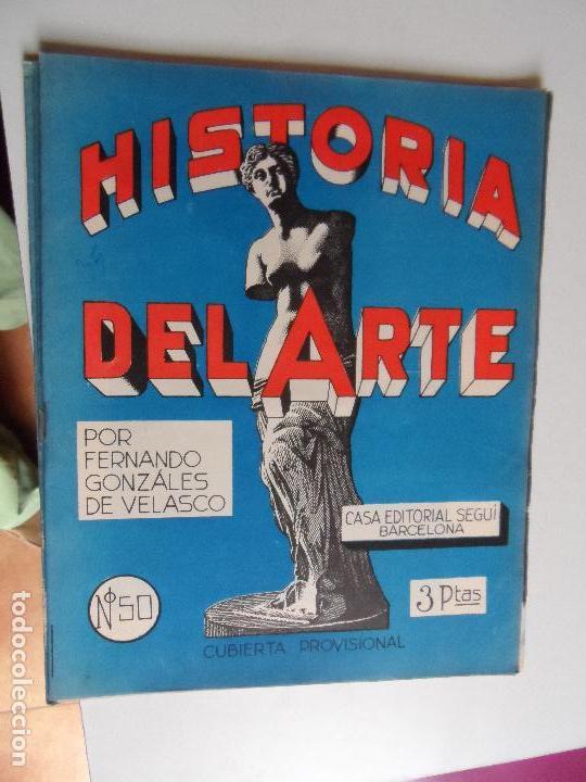Arte: HISTORIA DEL ARTE CASA EDITORIAL SEGUI POR FERNANDO GONZALEZ VELASCO LOTE 43 REVISTAS - Foto 9 - 117872903