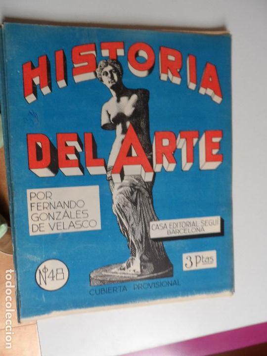 Arte: HISTORIA DEL ARTE CASA EDITORIAL SEGUI POR FERNANDO GONZALEZ VELASCO LOTE 43 REVISTAS - Foto 11 - 117872903