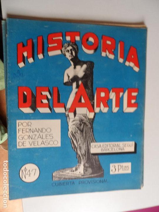 Arte: HISTORIA DEL ARTE CASA EDITORIAL SEGUI POR FERNANDO GONZALEZ VELASCO LOTE 43 REVISTAS - Foto 12 - 117872903