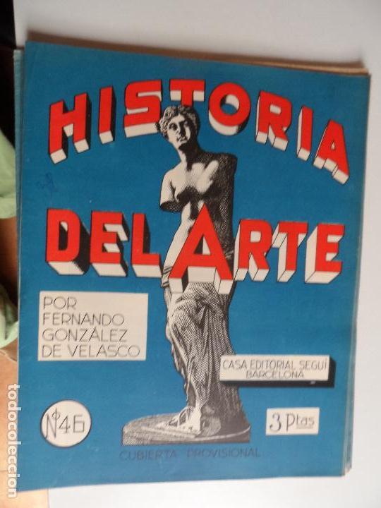 Arte: HISTORIA DEL ARTE CASA EDITORIAL SEGUI POR FERNANDO GONZALEZ VELASCO LOTE 43 REVISTAS - Foto 13 - 117872903