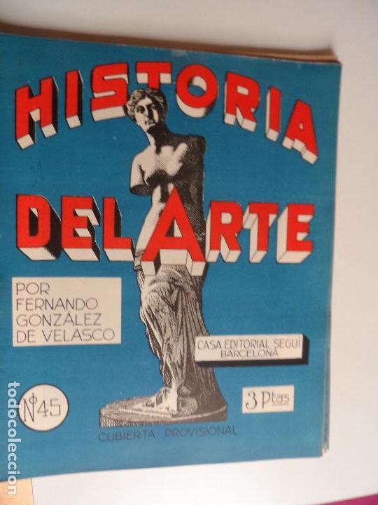 Arte: HISTORIA DEL ARTE CASA EDITORIAL SEGUI POR FERNANDO GONZALEZ VELASCO LOTE 43 REVISTAS - Foto 14 - 117872903