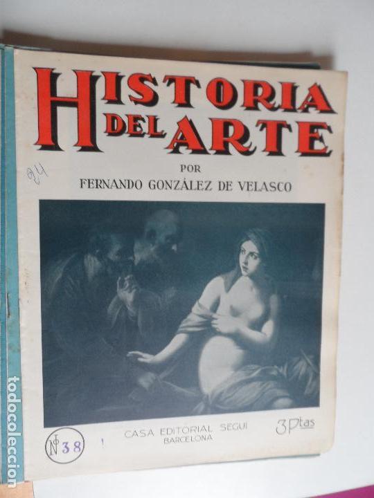 Arte: HISTORIA DEL ARTE CASA EDITORIAL SEGUI POR FERNANDO GONZALEZ VELASCO LOTE 43 REVISTAS - Foto 15 - 117872903